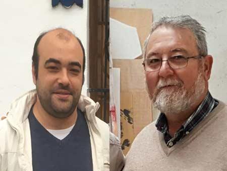 La falla Luis Cendoya renova als seus artistes Antonio Andrés i Vicente Andrés