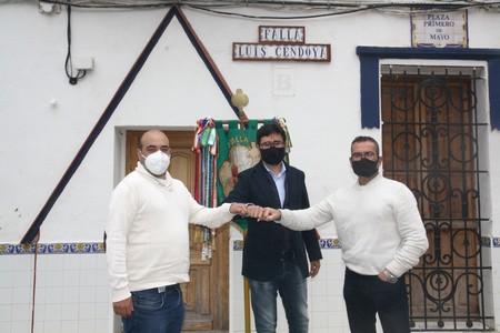 La falla Luis Cendoya vuelve a confiar en José Luis Pascual 'Pepi' y Antonio Andrés para sus monumentos de 2022