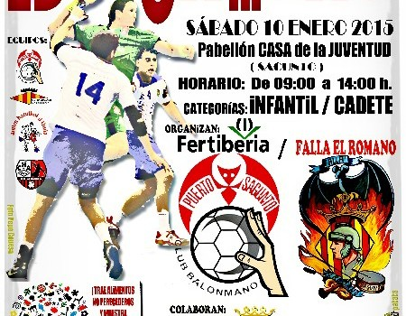 La Falla El Romano i el CBM Port Sagunt organitzen conjuntament el seu primer torneig solidari d'handbol