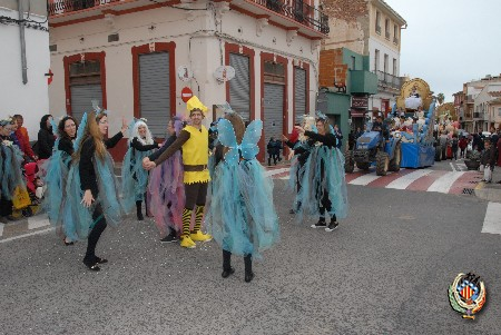 La pluja no impedeix la celebració de la cavalcada de Faura