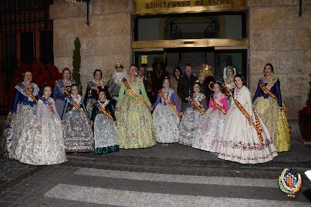 Mar Gimeno i Andrea Escribà gaudeixen del Dia dels Reis Mags a Sagunt