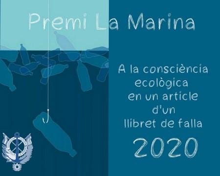 Cartel premi La Marina 2020