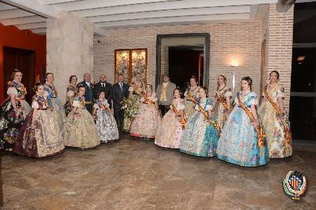 El Sopar de Germanor de les falles reuneix a més de 1.200 persones en l'Hort de Santa María