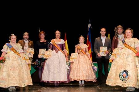 Acto de clausura de las actividades culturales y deportivas de Federación Junta Fallera de Sagunto