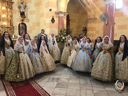 La Federació Junta Fallera de Sagunt celebra la festivitat de la Creu de Maig