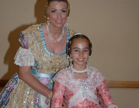 María del Mar Gimeno i Andrea Escribá seran les noves Falleres Majors per a l'exercici 2018