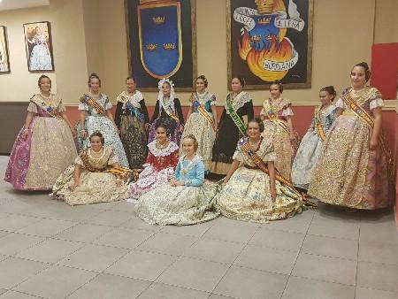 Borriana exalta a la seua Reina Fallera Infantil per a 2017