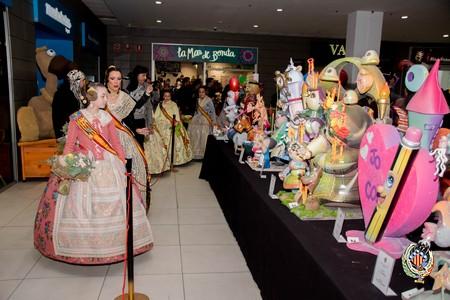 L'Epicentre acoge un año más la exposición del Ninot de Federación Junta Fallera de Sagunto