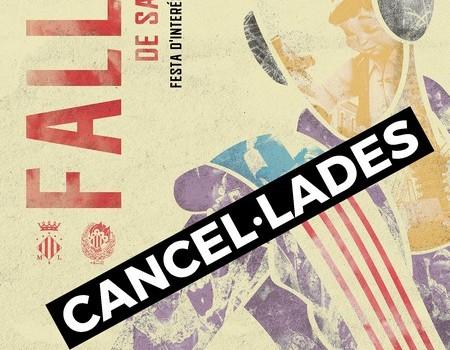 Cancel·lades les falles 2020 al Camp de Morvedre