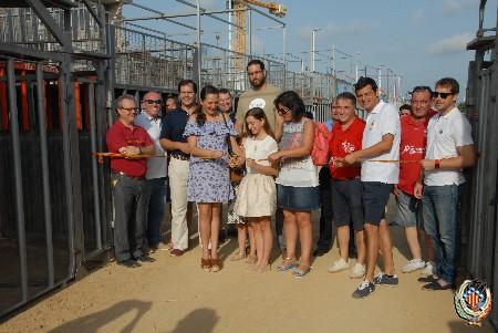 Les Falleres Majors gaudeixen de l'inici de les festes patronals de Sagunt