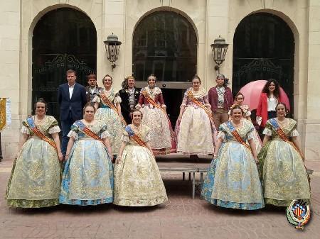 Federació Junta Fallera de Sagunt participa en la jornada de convivència de Juntes Locals a Xàtiva