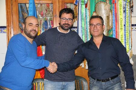La falla Luis Cendoya fitxa a José Luis Pascual 'Pepi' i renova a Antonio Andrés