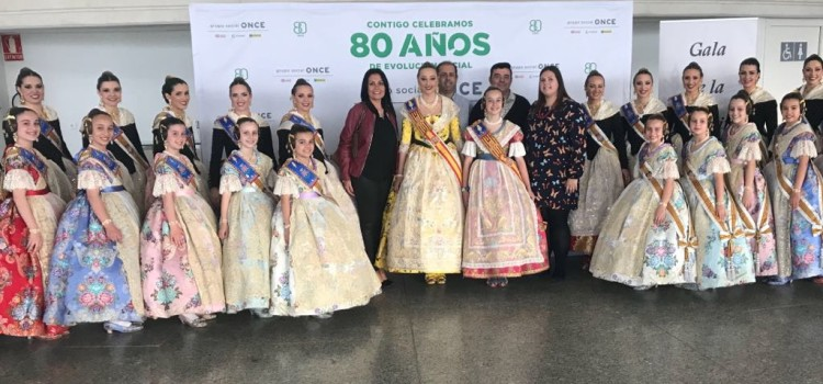 La A.C. Falla la Marina present en els X Premis ONCE Solidaritat Fallera