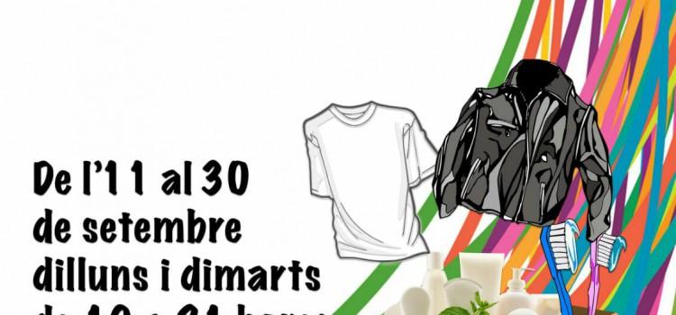 La Falla Eduardo Merello organitza una recollida de roba, calçat i productes d'higiene