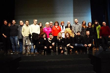 Ple en el concert solidari i igualitari, Veus de Dones, organitzat per la Falla El Mocador.