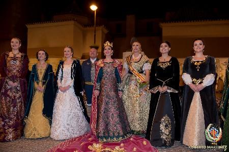 Mar Gimeno acudeix a l'Homenatge a Na Violant d'Hongria a Castelló