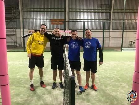 La Falla Plaza del Sol vence en el Campeonato de Pádel