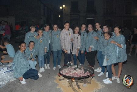 Gilet acoge el concurso de paellas de la Federación Junta Fallera de Sagunto con más de 1600 participantes