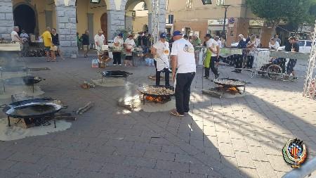 Se realiza con éxito en Cecina (Italia) la II degustación de paellas de la Federación Junta Fallera de Sagunto