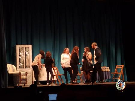Cinco comisiones participan en el Concurso de Teatro en Valenciano de Federación Junta Fallera de Sagunto
