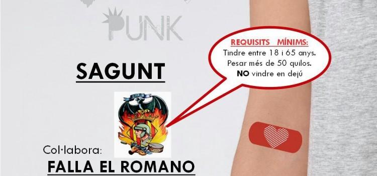 Donació de Sang a la A.C. Falla El Romano. Ser Donant NO Pasa de Moda