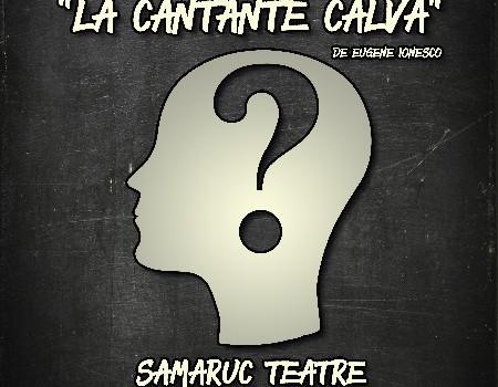 """La Falla El Romano presenta en la seua Setmana Cultural l'obra de teatre """"LA CANTANTE CALVA"""""""