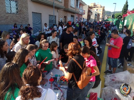 Centenars de xicotets participen en les Trobades Falleres de Faura d'enguany