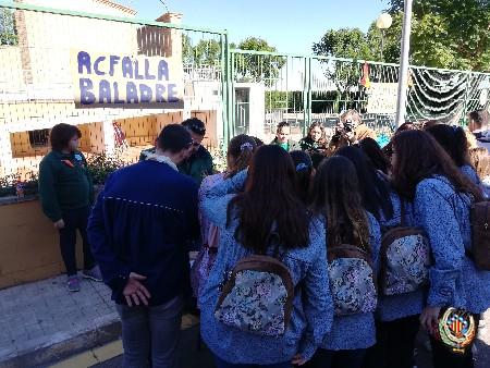 """Gran participació infantil en """"Les Trobades Falleres"""" d'enguany a Faura"""