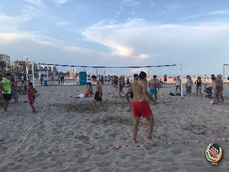 Se celebra el torneo de Voley Playa de Federación Junta Fallera de Sagunto