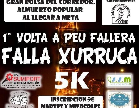 1 Volta a Peu Fallera de 5K de la A.C Falla Xurruca