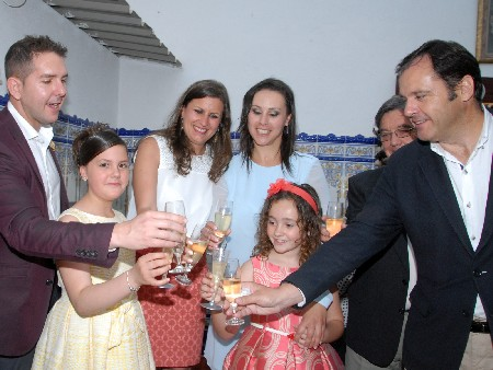 Beatriz Alós García i María Villar Cayuela Falleres Majors de Federació Junta Fallera de Sagunt 2016