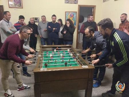 Plaza Ibérica y Plaza Rodrigo se alzan con los campeonatos de futbolín y billar